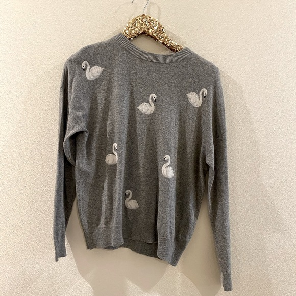 New Look Swan Sweater